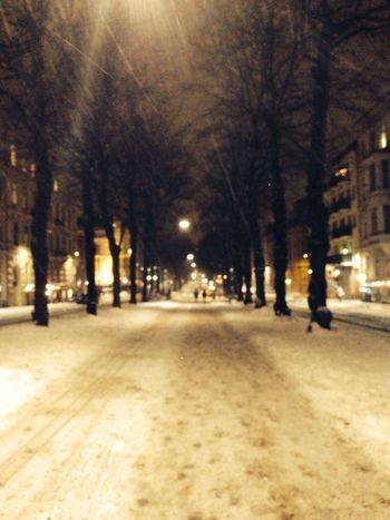 Street Photography Winter Gothenburg Snow