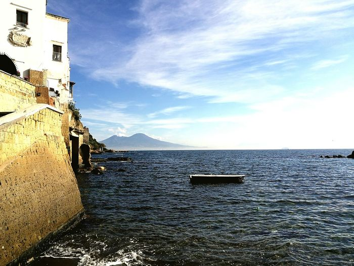 Sea Travel Destinations Water Outdoors Scenics Day Mountain Sky No People Architecture Nautical Vessel Beauty In Nature Nature Astrology Sign Napoli Marechiaro my city