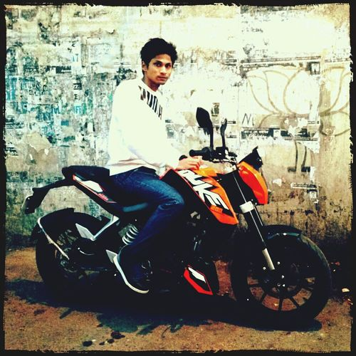 speed beast Check This Out KTM Duke200 That's Me PhonePhotography
