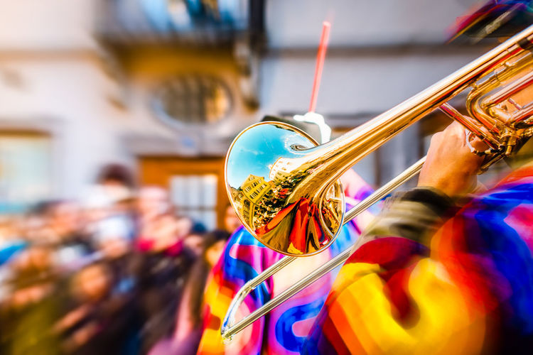 Carnival Arts Culture And Entertainment Culture Day Focus On Foreground Germany Music Musical Instrument Musician Outdoors Parade People Traditonal Festival
