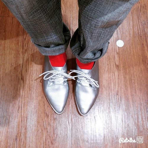 my new shoes? Silver  Shose My Favorite  Hanging Out Taking Photos That's Me