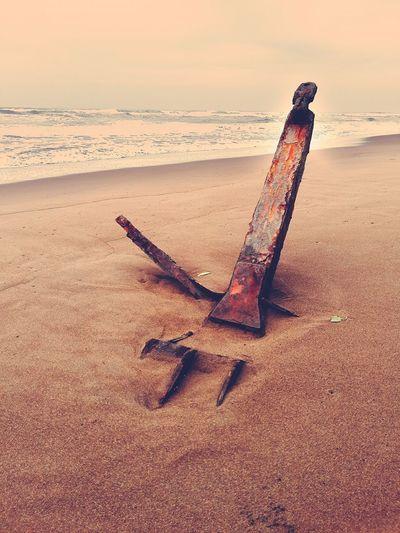 Ain't gonna move Sea Seaside Anchor Shore Life Is A Beach Beachphotography Beach Caribe Caribbean Costa Rica