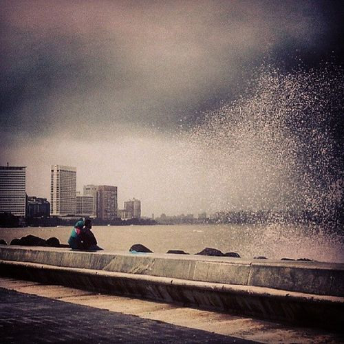 Reposting an old shot with a different filter Gfd_watersplash Gf_daily Global_family Gf_india mumbai_in_clicks