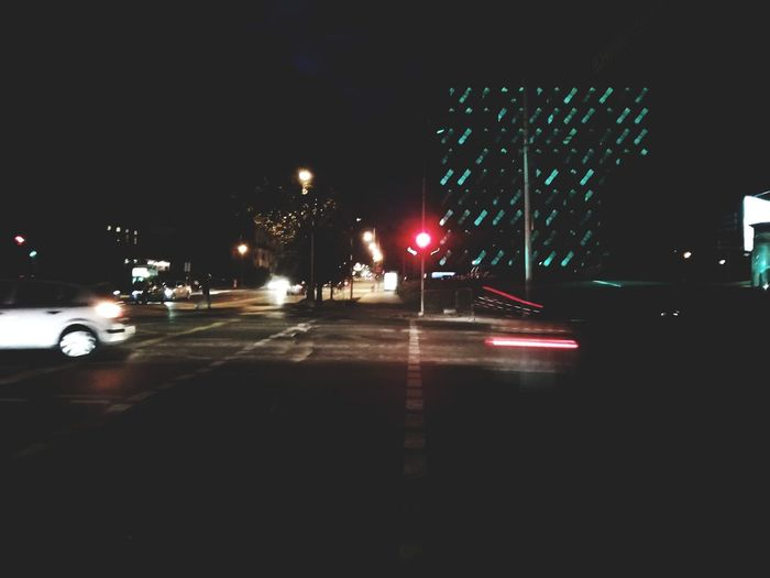 HUAWEI Photo Award: After Dark City Illuminated Car Road Sky