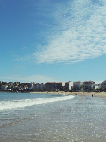Saint Jean De Luz Pays Basque BasqueCountry Sea Beach Sand France Saint Jean De Luz, France Blue Sky Summer