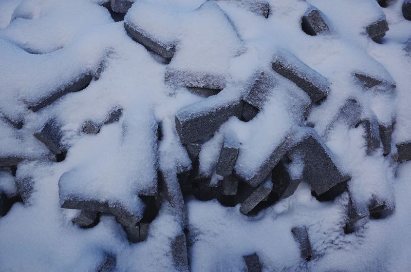 Frozen brick