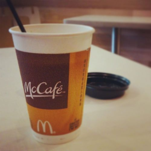 McCafe McDonald Coffee Wait shenzhen