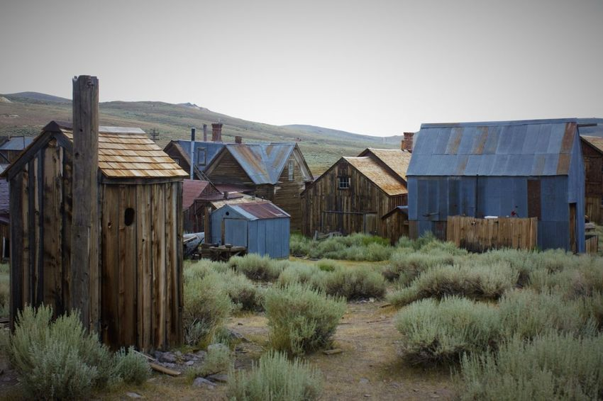 Abandoned buildings in Bodie Ghost Town Abandoned Buildings Bodie Ghost Town Built Structure Ghost Town Mining Town No People Outdoors Wood - Material