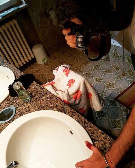 Scatto foto salvo gente Photo Foto Sangue Blood