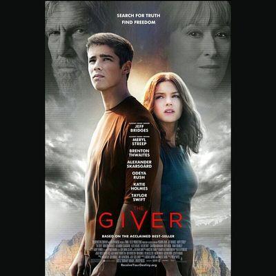 Watching Thegiver it's a interesting movie , I'm enjoying it.
