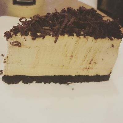 Cappucino Cheesecake. 😍😉😁 Sweettreat Sweetdelight Lateafternooninsanity Gastronomía Happytreats