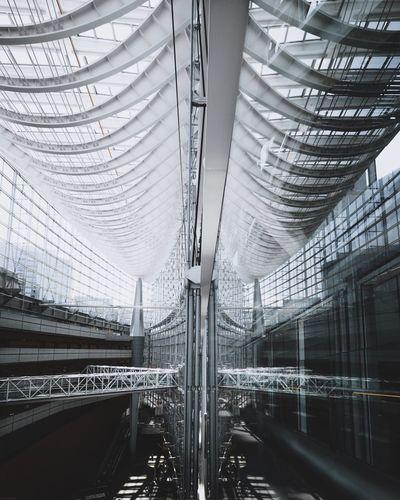 The Architect - 2017 EyeEm Awards Architecture Built Structure Indoors  Modern No People Futuristic Urban Japan Side View Mirror Reflection 16mm Architecture EyeEm Best Shots EyeEmNewHere EyeEm Masterclass