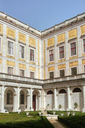 Mafra Palace Mafra, Portugal Convento De Mafra Architecture Yellow Travel First Eyeem Photo World Place Book