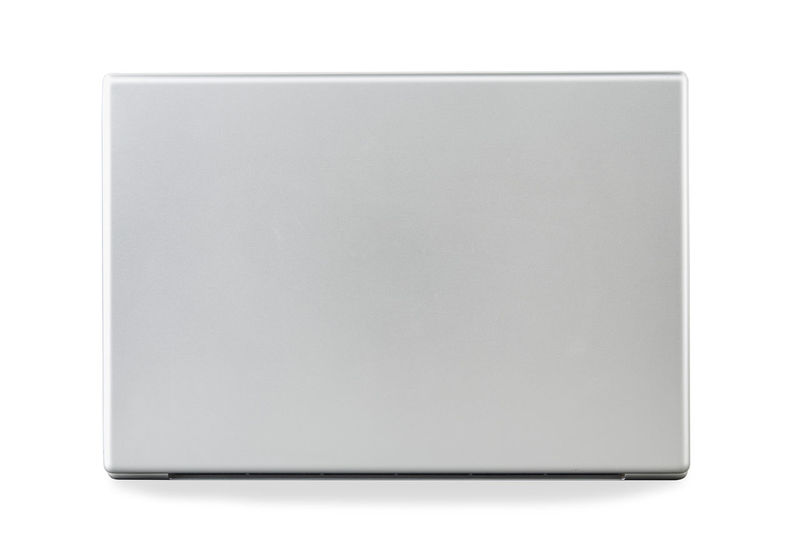 back of laptop is on the white background, Technology concept Technology Concept Laptop Back White Background Isolated Computer View Business Notebook Open PC Object Modern Screen Asian  Office Equipment Internet Portable Monitor Gray Blank Digital Mobile Design Work Keyboard School Silver  Metal Single Data Space Desktop Black Side Studio Communication Web Photography Still Life White Background Cut Out Copy Space Studio Shot Indoors  White Color Single Object No People Paper Close-up Shape Education Empty Book Rectangle Directly Above Note Pad