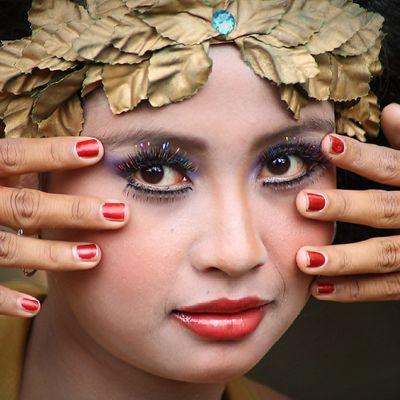 -indonesian girl - Kofaba Model Smile Eye facecloseuplipsnatureindonesia