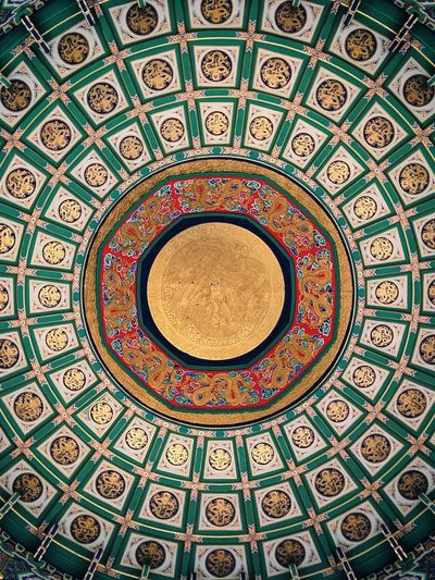 Dome Place Of Worship Backgrounds Pattern City Ornate Design Architecture Architectural Design Architecture And Art Directly Below Mosaic Ceiling Floral Pattern Fresco Circular LINE Pillar