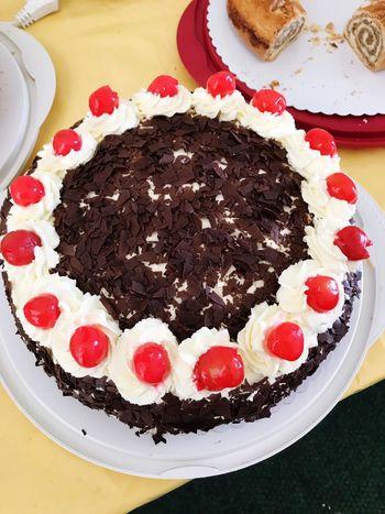 Sweet Food Indulgence Cake Blackforestcake