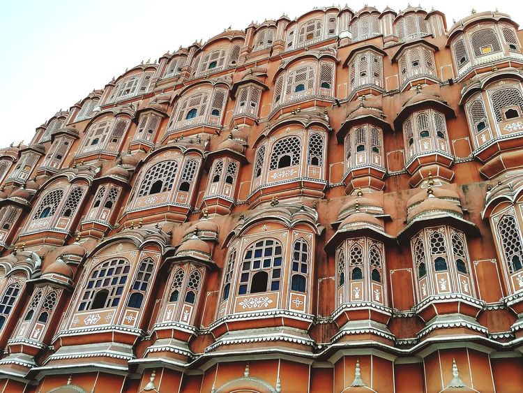 Jaipur-Hawa-mahle ... Architecture Low Angle View Religion History First Eyeem Photo Built Structure Travel Destinations Place Of Worship Tourism No People Day Indoors  Rajasthan Rajasthan Jaipur Rajasthan Beauty Rajastan Rajasthantourismofficial Rajasthan Trip Jaipur Rajasthan Hawamahal Hawamahaljaipur Hawa Mahal Palace Jaipur, India Jaipurblog Jaipur City,India HawaMahal