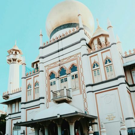 Architecture Low Angle View Travel Destinations History Built Structure Building Exterior Day Outdoors Sky No People Dome City Close-up Mosque Islam Sky And Clouds