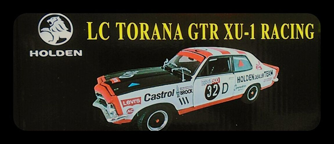 Peter Brock XU-1 GTR Posterporn General Motors Holden Racing Cars Torana GTR_XU-1_Torana Motor Racing Posters Holden Torana Peter Brock, R.i.p. Car Porn Holden Dealer Team Brock Motorsport Car Racing Brock H.D.T. GMH Car Carporn Hdt Poster Car Posters Fast Cars