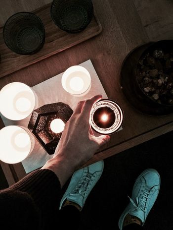 Coziness @ home. Byredo Byredo Fragrances Perfumecollection Cozy Interior Design Interior Madetlen Iittala Scented Candle Scented Candle Tomdixon Light