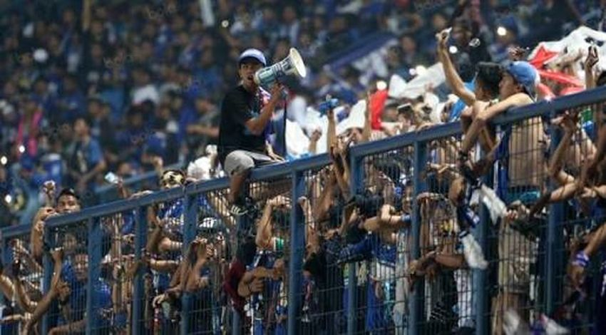 Suporter PersibDay Bobotoh Boys Comander Blue Lifestyles First Eyeem Photo Outdors