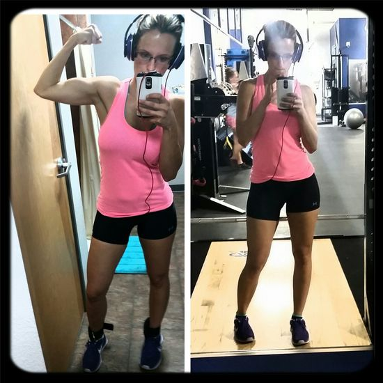 Leg Day=Happy Day. Just killed an intense workout. Legs Lifting Weights STRONGER THAN YESTERDAY Fitgirl