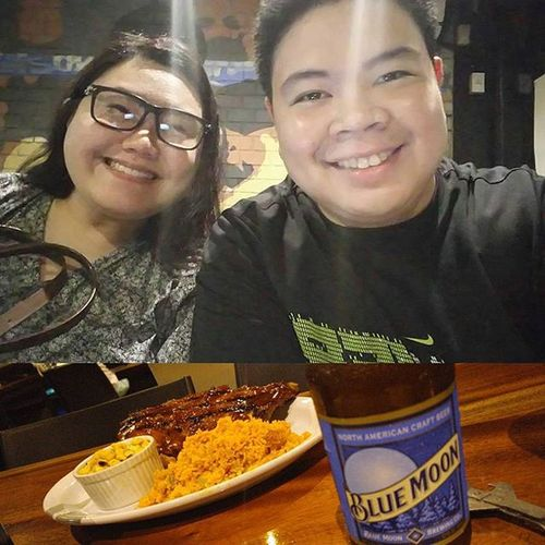 @marcus with @rosettegodmd! Foodtripbuddy Beerandribs G4 GF
