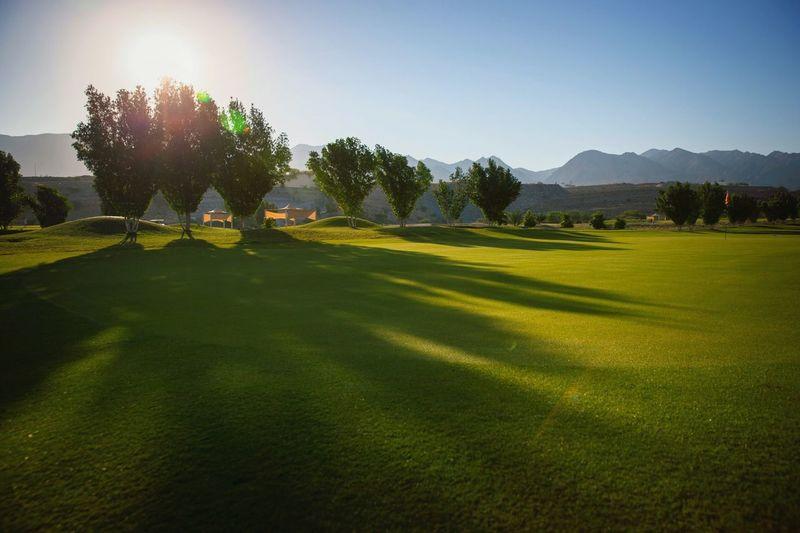 Green Grass Golf Golf Course Ghala Valley Muscat , Oman Hidden Gems  Visit Oman