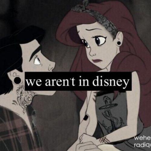 :'( Reality Realidadpowasha Disney Sirenita
