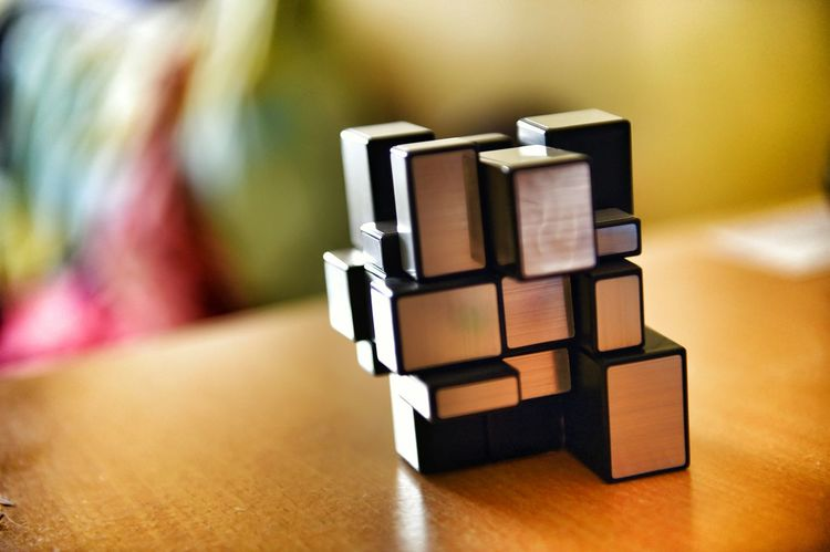 Jumbled Jumbled Life Cube Taking Photos Patience Peace