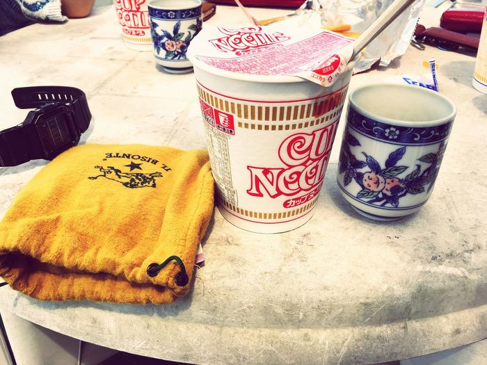 Lunch Time! After Surfing Sunny Day Day Off Cupnoodles Yummy IL BISONTE Green Tea The Scenery That Tom Saw Tomの見た世界 Japan