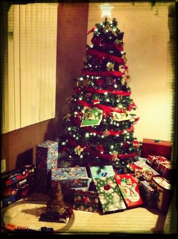 Definitely counting my blessings. Didn't think we could get presents under the tree this year. Thank you God.