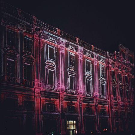 Lyon Fete Des Lumieres Illumination Streetart