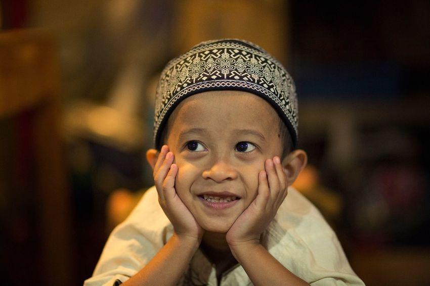 Smile Portrait Kids Boy Canon6d