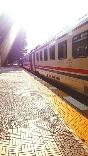 Train Train Station TCDD Manisa
