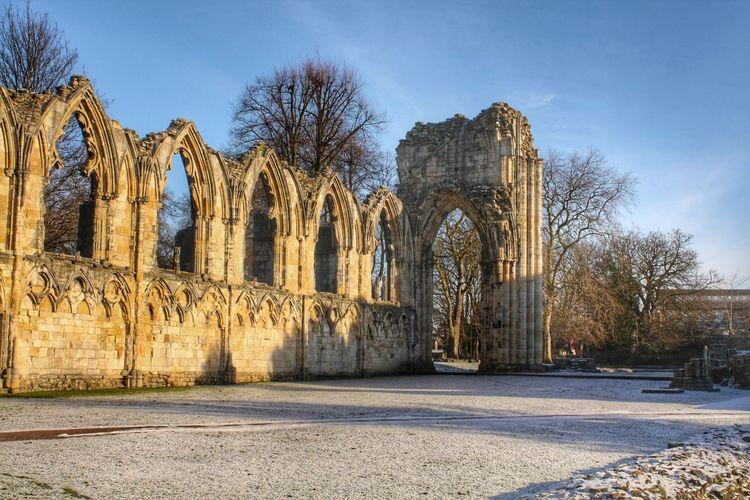 St Mary's Abbey, York, UK