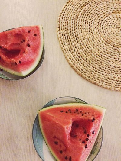 Watermelon Food And Drink Fruit SLICE Freshness Healthy Eating Indoors  Food Pitaya No People Healthy Lifestyle Close-up Ready-to-eat Day