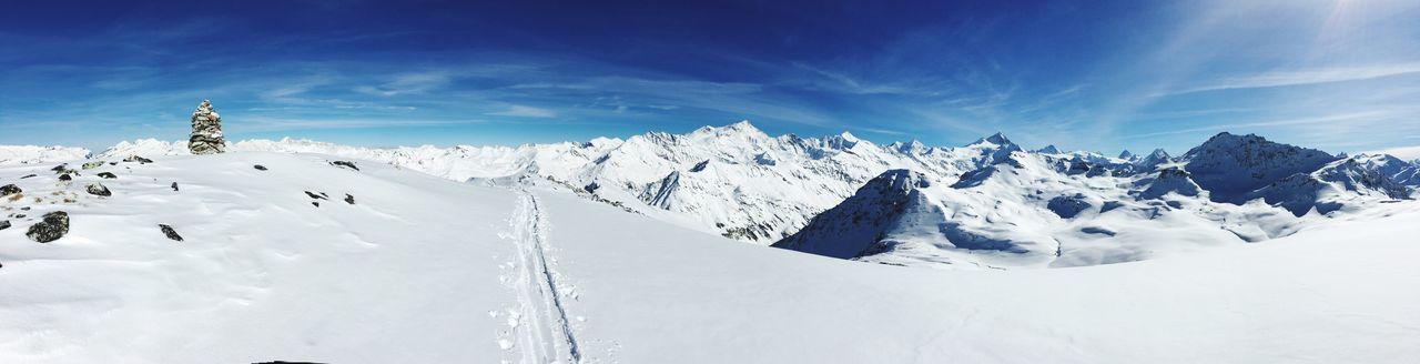 Grimentz Val D'Anniviers Valais Switzerland Alps Mountain Outdoor Photography Winter Landscape