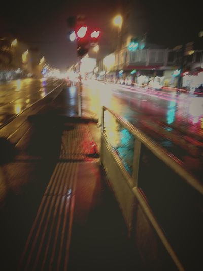 blurry nights