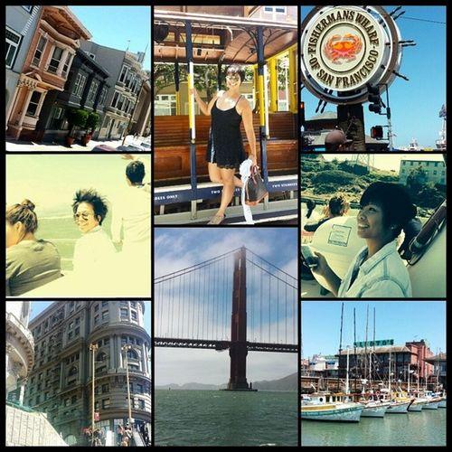 San Francisco was nice. ? ?? Touristmode Sanfrancisco City Allinoneday wishmybfwastheredoe