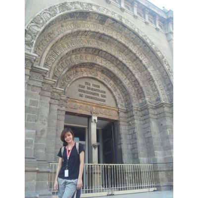 Manila Cathedral. Thanks to e-trike :)