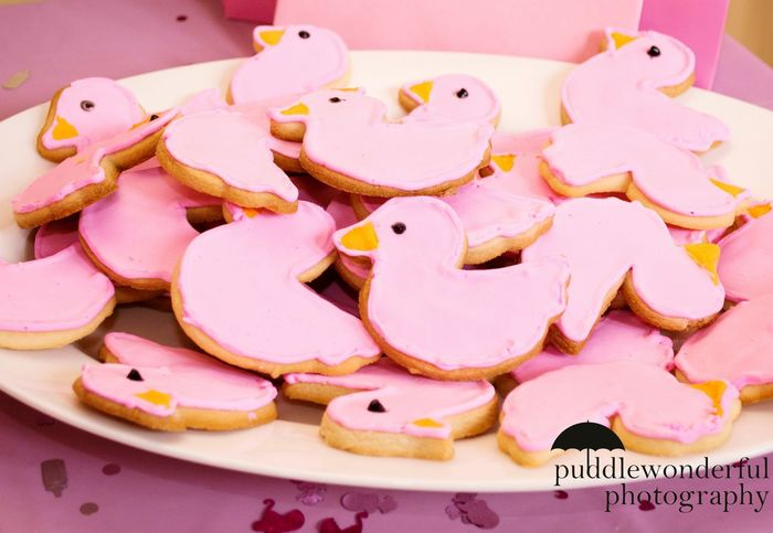 Pink Ducks Itsagirl Babyshower PinkCookie Virginia Puddlewonderfulphoto
