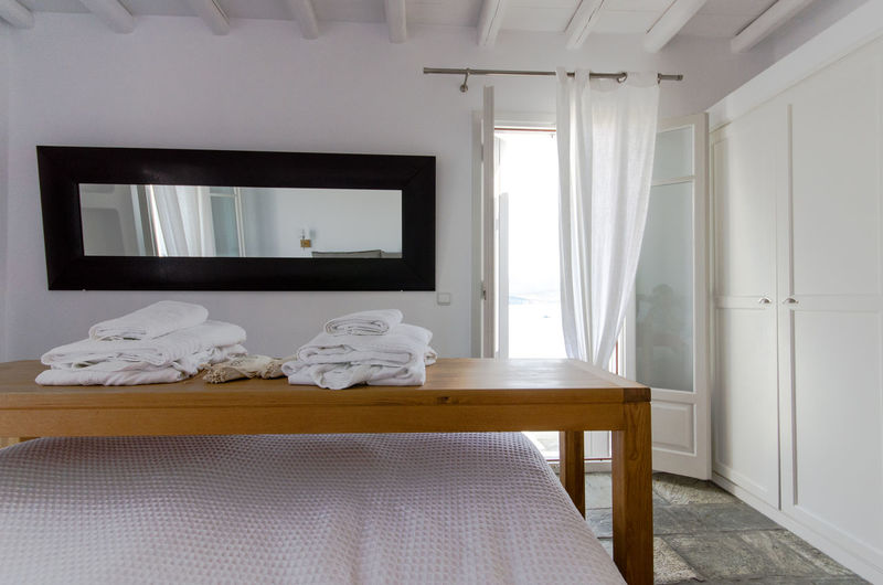 Absence Bed Bedroom Day Greece Home Interior Home Showcase Interior Indoors  No People Pillow Rest Sleep