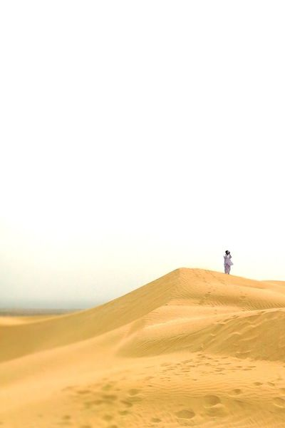 EyeEm Best Shots EyeEmNewHere EyeEm Selects Sand Dune Full Length Desert Arid Climate Clear Sky Adventure Sand Environment Accidents And Disasters Remote