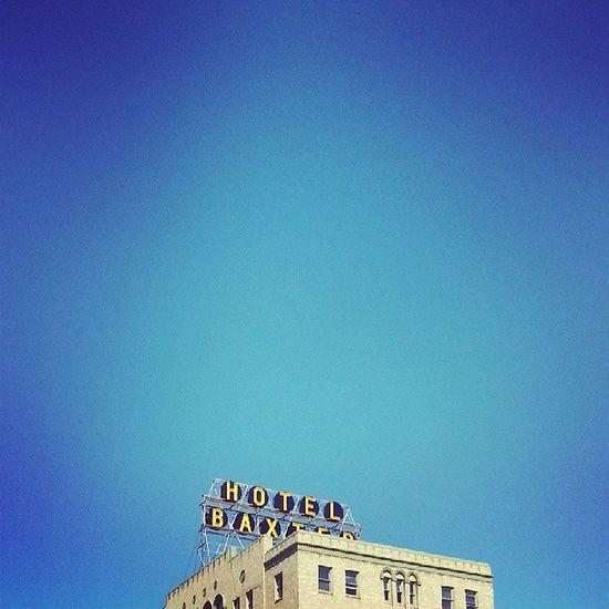 HotelBaxter Baxter Hotel Bozeman Montana Blue Sky