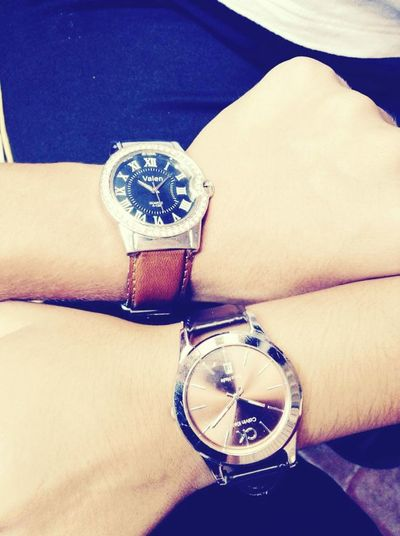 Our watches<3 EyeEm Taking Photos With Stuart