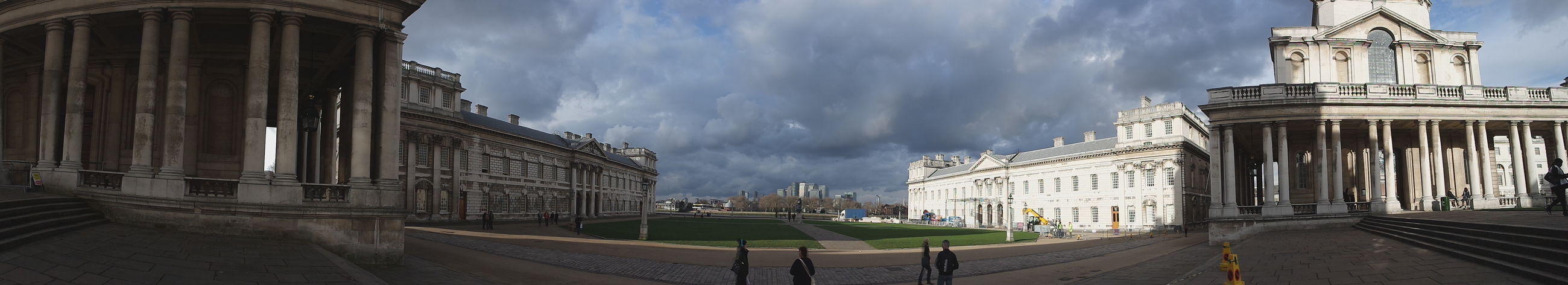 London No Filters  No Edit Needed Greenwich Naval College 21st Birthday! Panoramic Photography