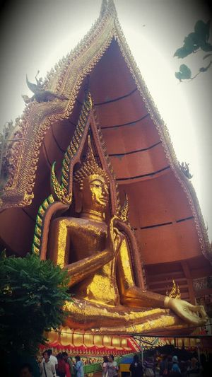 Peach in my mind Religion Cultures Statue Architecture Gorgeous Peace And Quiet Merit-making Temple - Building People Nice Place Relax Chilling