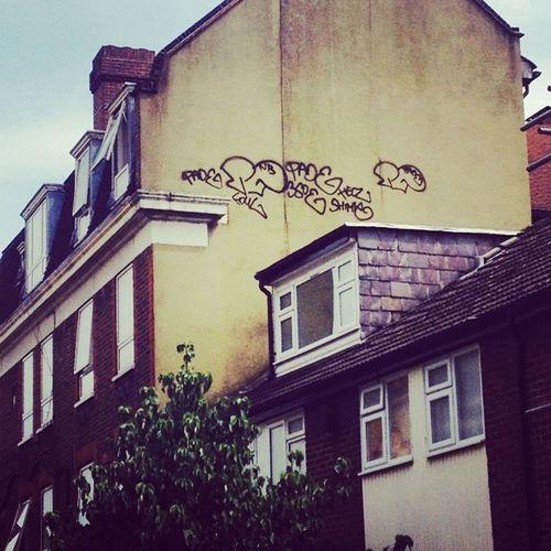 Pade Shimy Foul  HELZ Bvs InstaGraff GraffLondon StreetShit